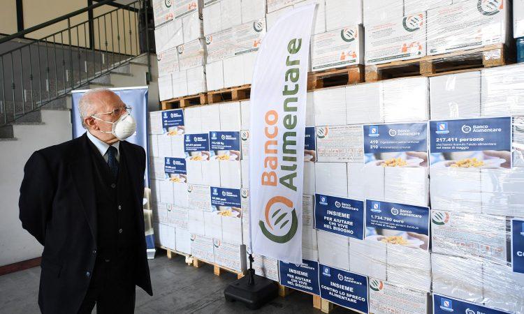 Abbiamo fatto visita questa mattina alBanco Alimentare Campania Onlusa Fisciano, la struttura che laRegione Campaniasupporta per la distribuzione delle eccedenze alimentari.In questi mesi difficili è stato fatto un lavoro straordinario, […]
